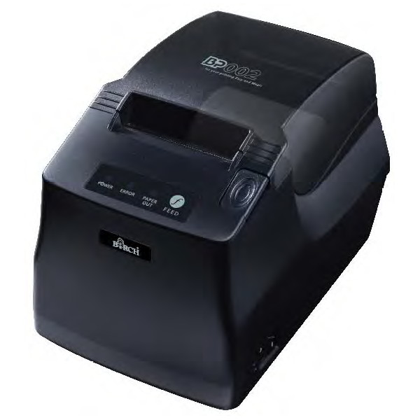 Birch BP-002 58mm Thermal Receipt Printer, 100mm/second, RS232and USB connections