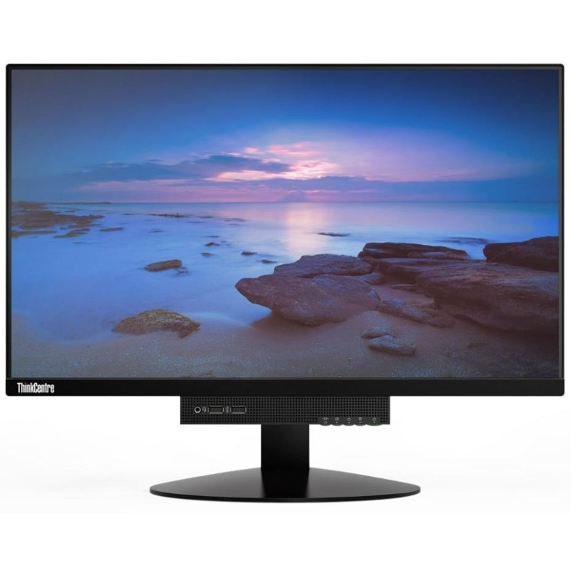 Lenovo ThinkCentre Tiny-in-One 23.8 Inch FHD IPS Montior, 1920x1080, Tilt, Swivel, 2xUSB3.0, DP, Speaker
