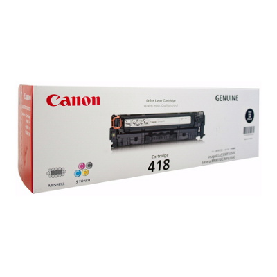 Canon CART418BK Black cartridge (3,400 pages)