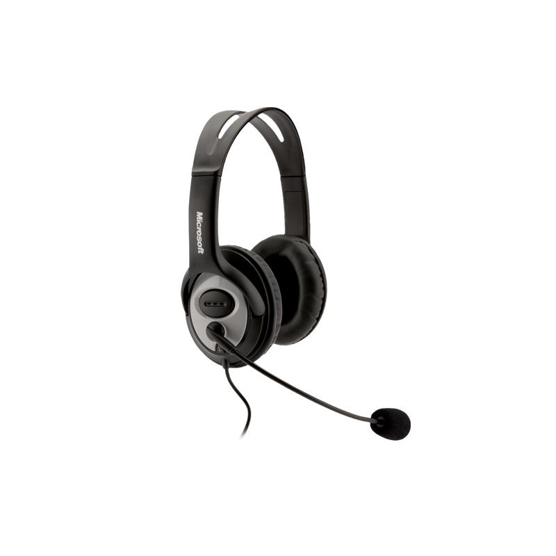 Microsoft JUG-00017/JUG-00013 LifeChat LX-3000 USB Stereo Headset and Microphone