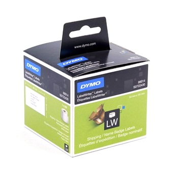 DYMO STANDARD SHIPPING - PAPER 54mm x 101mm 1 Roll/Box. 220 Labels/Roll