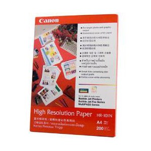 Canon HR-101N High Resolution Paper A4 110gsm 200 Sheets Per Pack