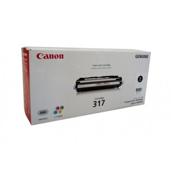 Canon CART317BK Black Toner Cartridge to suit MF8450C
