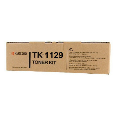 Kyocera TK-1129 Black Toner Kit (2,100 pages @ 5% coverage)