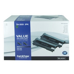 Brother TN-2025 Twin Pack Toner Cartridges
