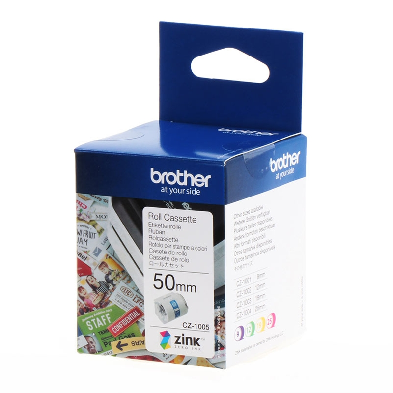 Brother CZ-1005 50mm Cassette Roll, 5m Length
