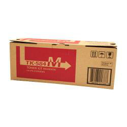 Kyocera TK-584M Magenta Toner Cartridge (2,800 Yield)