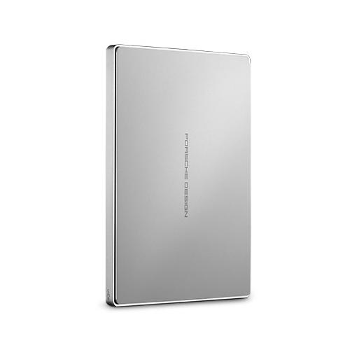 LaCie STFD1000400 1TB Porsche Design USB-C Portable Drive (Silver)