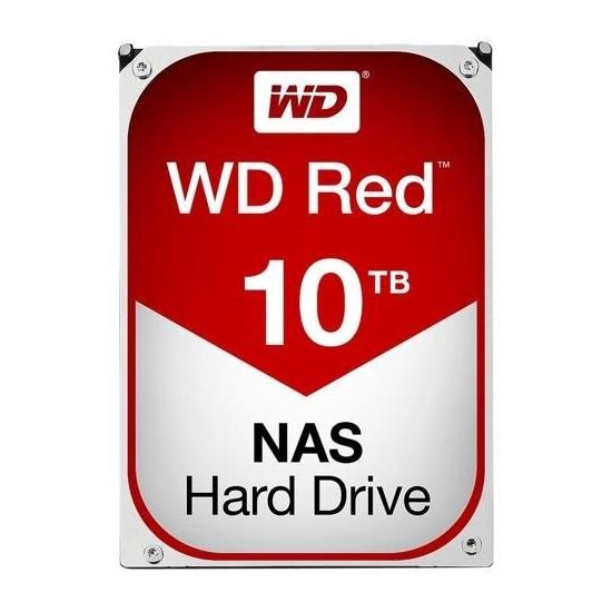 Western Digital WD100EFAX Red Internal 3.5 Inch Desktop SATA Drive, 10TB, 6Gb/s, Intellipower, 3yr