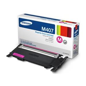 Samsung CLT-M407S Magenta Toner for CLP-320/325/CLX-3185 (1,000 Yield)