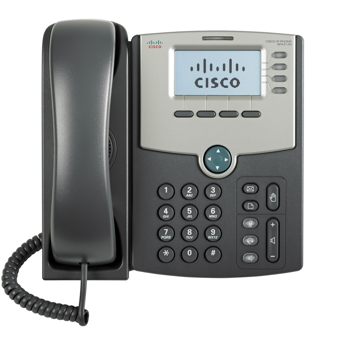Cisco SPA514G 4-Line IP Phone with Display, PoE and Gigabit PC Port