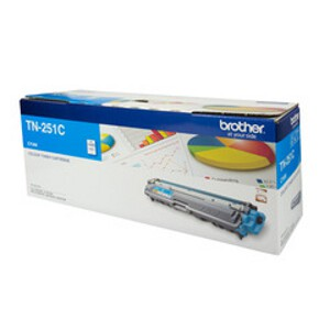 Brother TN-251C Cyan Toner Cartridge (1,400 Pages)