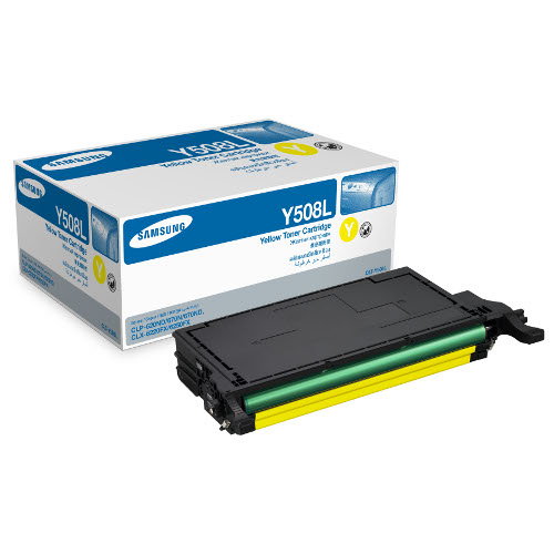 Samsung Yellow Toner for CLP-620ND  (Average 4,000 Pages @ ISO/IEC 19798)