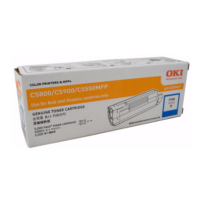 OKI TCOC5800CYAN Toner Cartridge to suit 58/5900 Printers