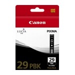 Canon PGI29PBK Photo Black Ink Cartridge (Yield, up to 111 pages)