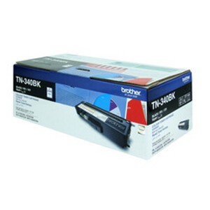 Brother TN-340BK Black Toner Cartridge (2,500 Yield @ 5%)