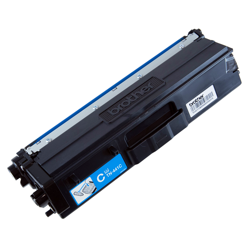 Brother TN-441C Standard Yield Cyan Toner, 1800 Pages