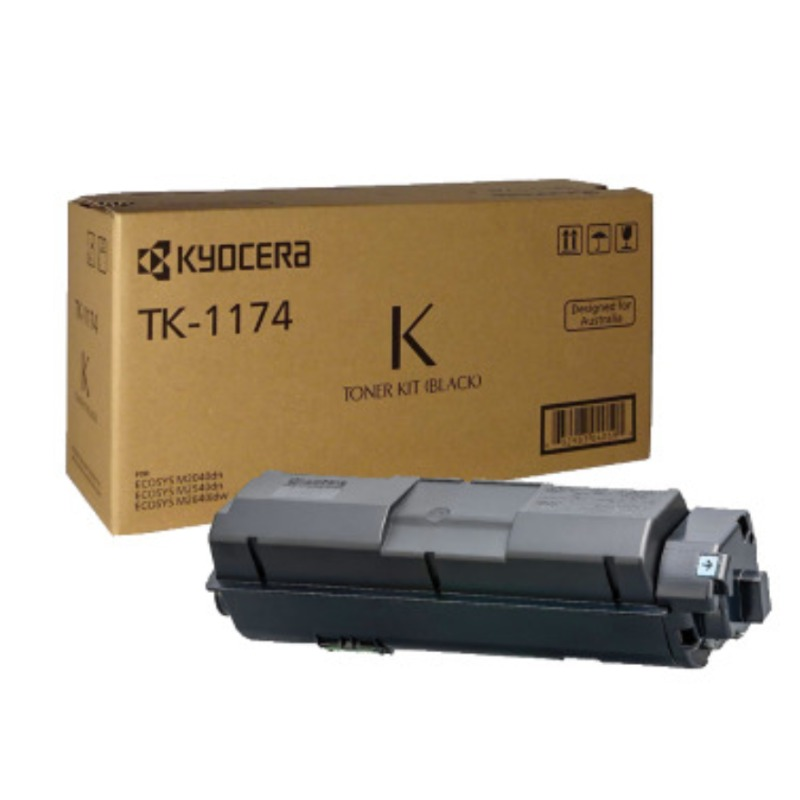 Kyocera TK-1174, Toner Kit to suit M2640IDW/M2540DN/M2040DN (7,200 Yield)