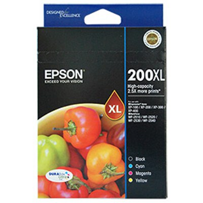 Epson C13T201692 High Capacity Ultra 4 ink Value Pack
