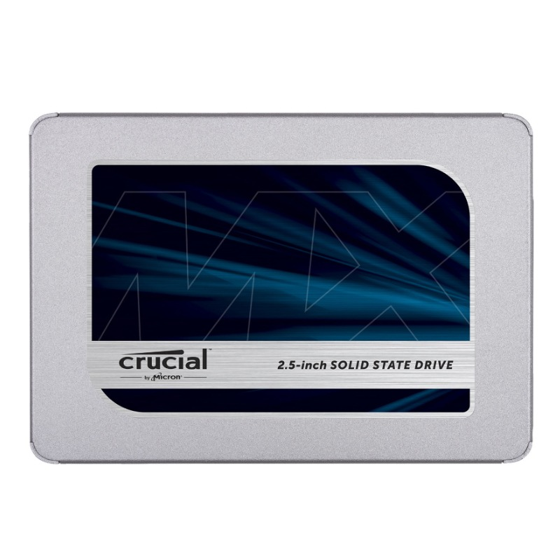Crucial MX500 2.5 Inch SATA (560MB/s Read / 510MB/s Write) - 2000GB, 5Yr
