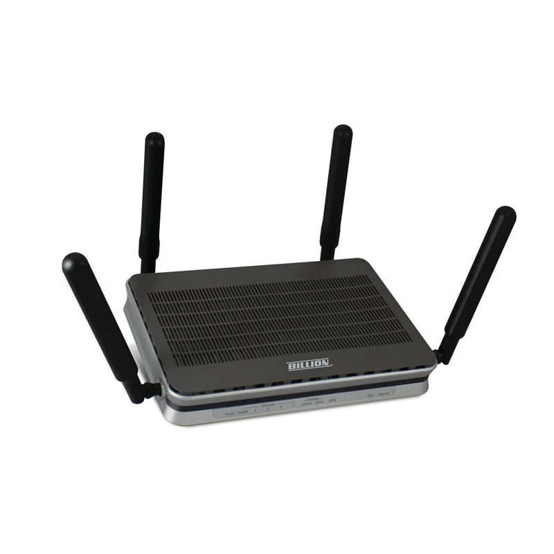 Billion BIPAC8900AX-2400 Wireless-AC 2400Mbps 3G/4G LTE VDSL2/ADSL2+ VPN Firewall Router