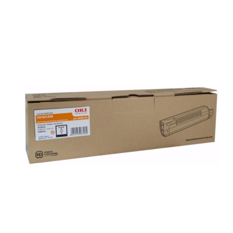 OKI 45862832 Toner Cartridge For MC873 Black; (15,000 Pages @ ISO)