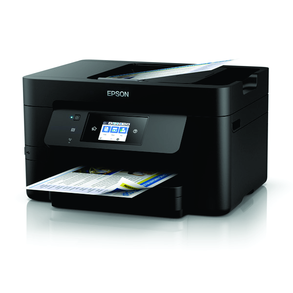 Epson Workforce 3725 Inkjet Multfunction with PrecisionCore - Print, Copy, Scan and Fax