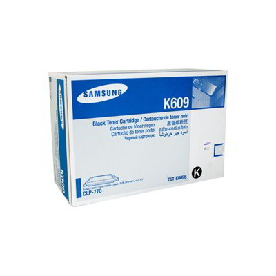 Samsung CLT-K609S Black Toner for CLP-770ND, CLP-775ND (Average 7,000 pages @ ISO/IEC 19798)