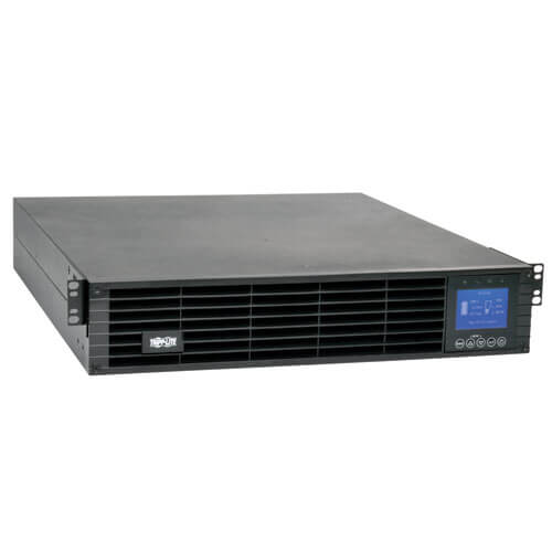 Tripp Lite SUINT3000LCD2U SmartOnline 3000VA Double Conversion 2U Rack/Tower UPS,LCD,USB,DB9,10xC13