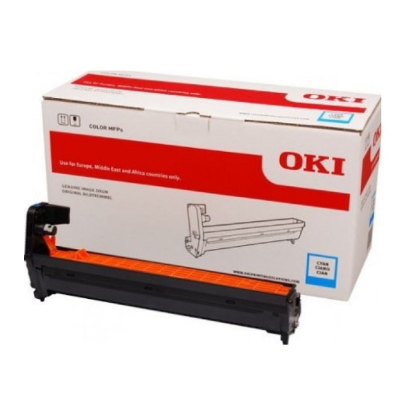 OKI 46507411 Cyan EP Cartridge (Drum); For C712n 30,000 pages Average