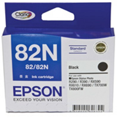 Epson C13T112192 Black Ink Cartridge (Standard Yield) - same as C13T0821902