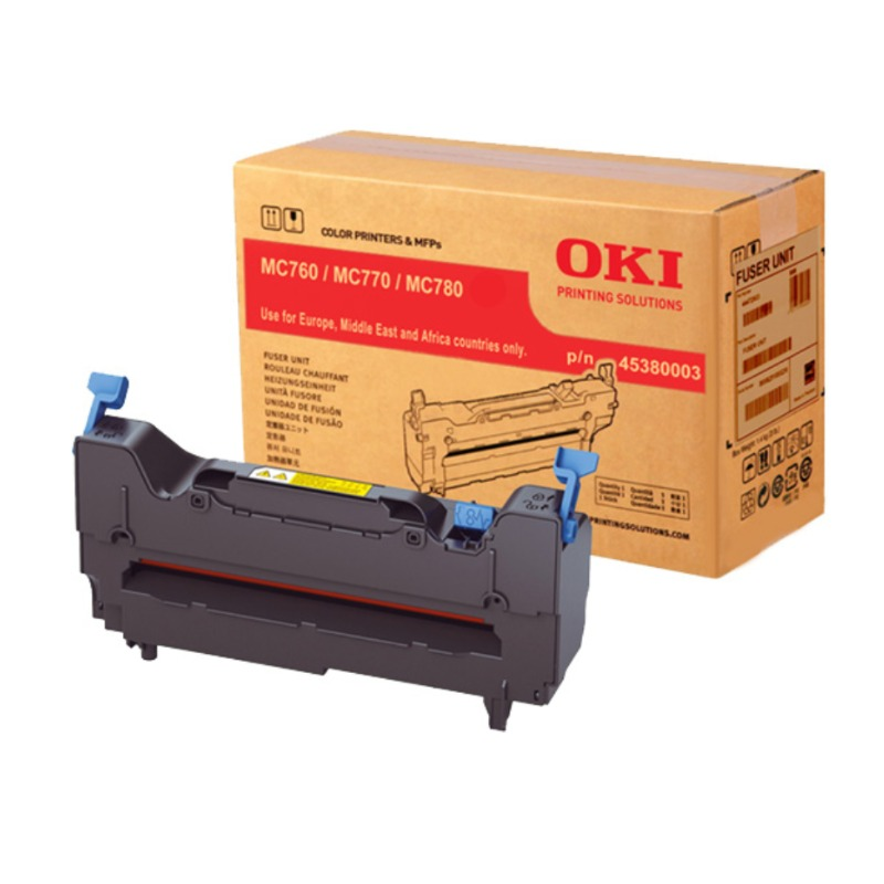 OKI 45380003 Fuser Unit for MC770DNFAX / MC770DFNFAX, 60,000 Pages