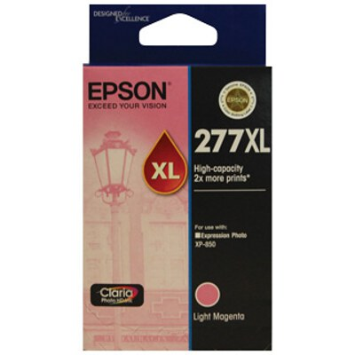 Epson C13T278692 High Capacity Claria Photo HD Light Magenta ink (Yields up to 740 pages)