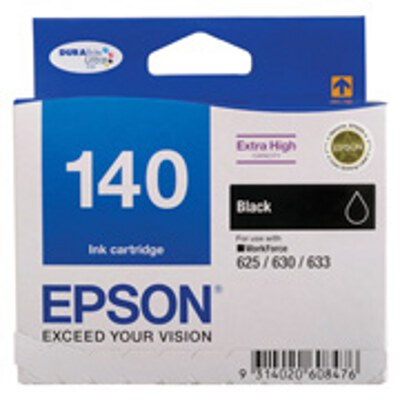 Epson C13T140192 Extra High Capacity Black ink cartridge to suit WORKFORCE 625, 630, 633