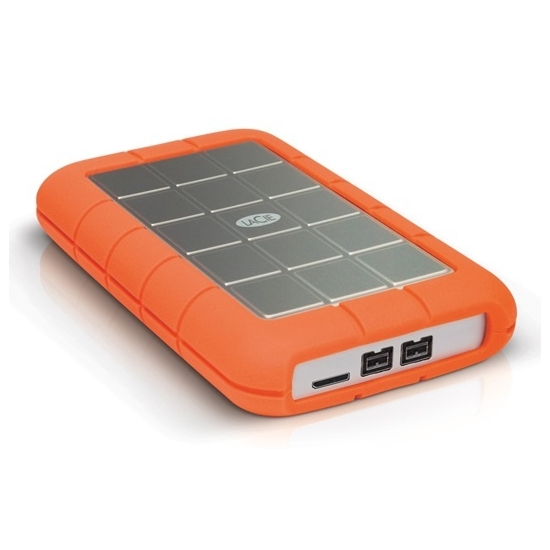 LaCie STEU1000400 1000GB Rugged USB3.0 / FW800 Portable Drive
