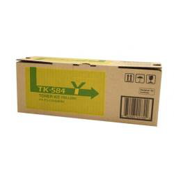 Kyocera TK-584Y Yellow Toner Cartridge (2,800 Yield)