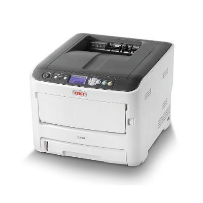 OKI C612DN Colour LED Printer with Network + 44274303 Duplex Unit