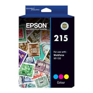 Epson C13T216092 Colour Ink Cartridge to suit WF100 (Yield, up to 250 pages)