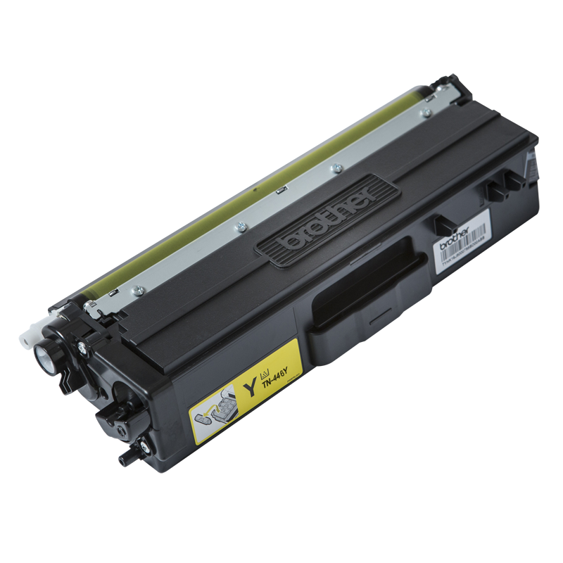 Brother TN-446Y Super High Yield Yellow Toner, 6500 Pages