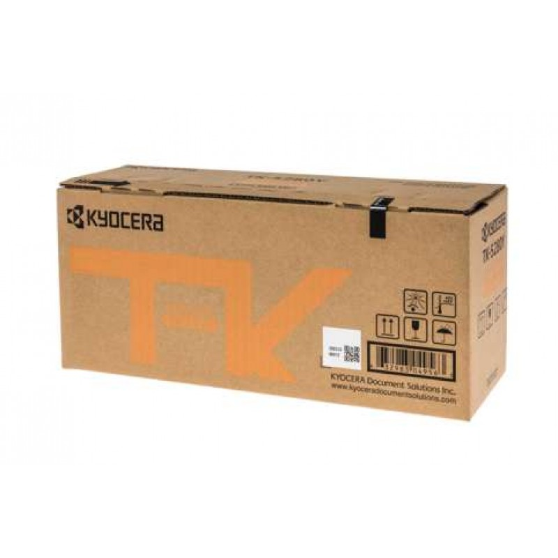 Kyocera TK-5284Y Yellow Toner Cartridge (11,000 Yield)