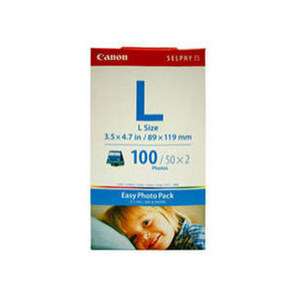 Canon EL100 Easy Photo Pack L Size - 100 sheets to suit ES1