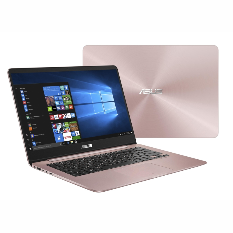 Asus ZenBook,Core i7-7500U 2.7/3.5Ghz,16GB,512GB M.2 SSD,14 Inch FHD,NV940MX-2GB,Win 10 Pro 64,Rose Gold