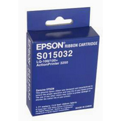 Epson C13S015032 Black Fabric Ribbon cartridge to suit LQ-100
