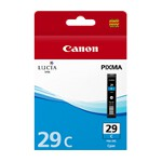 Canon PGI29C Cyan Ink Cartridge (Yield, up to 230 pages)