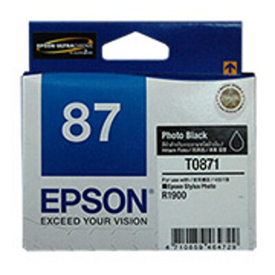 Epson C13T087190 Photo Black Cartridge