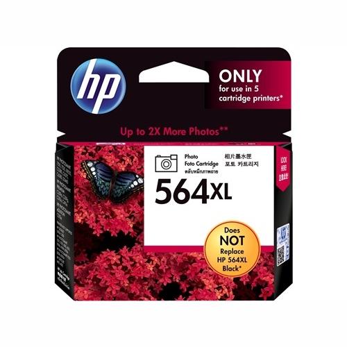 HP CB322WA #564XL High Yield Photo Black Ink Cartridge (290 page yield of 4x6)