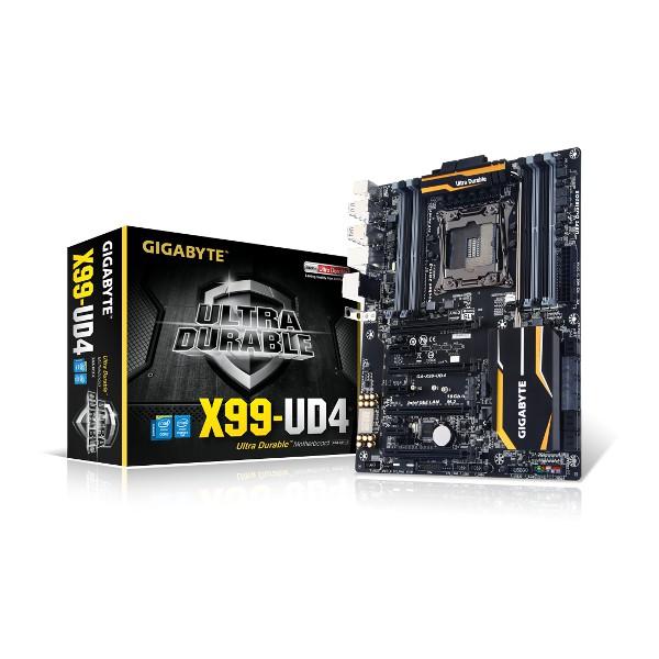 Gigabyte GA-X99-UD4 Intel X99/Socket2011-3/PCI-Ex 16/ATX Motherboard