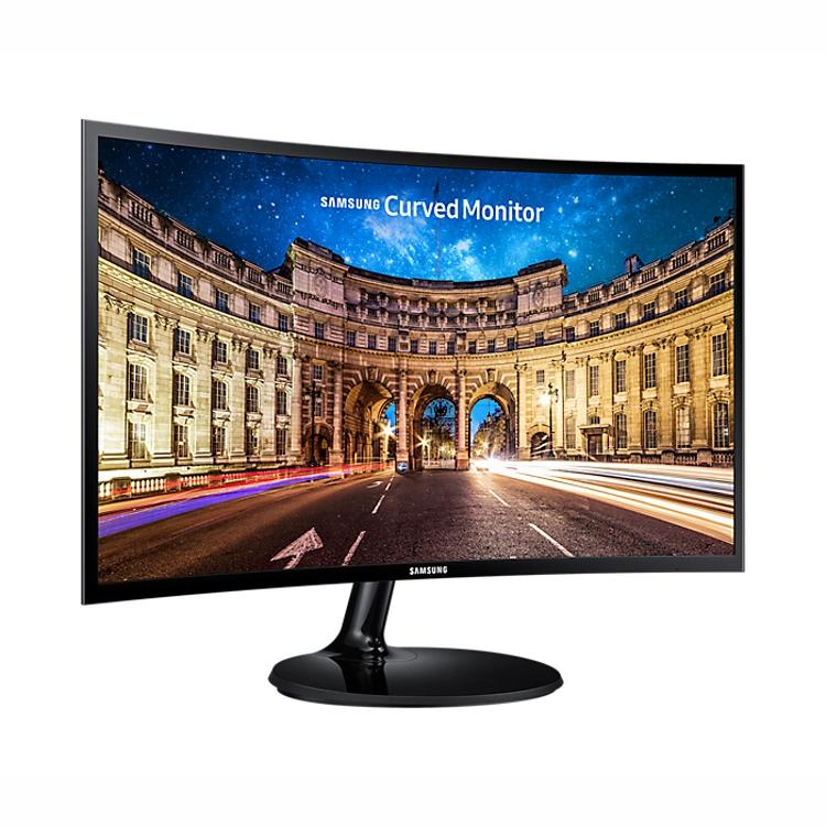 Samsung LC27F390FHEXXY 27 Inch Curved LED, 16:9, 1920x1080, DSub, HDMI, 5ms, Tilt, VESA, 3 Yr