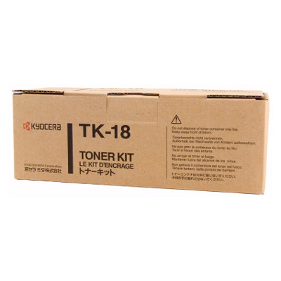 Kyocera TK-18 Toner Cartridge (7200 Yield)