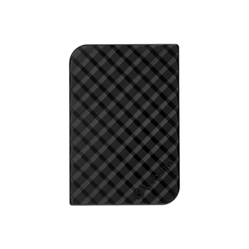 Verbatim 53194 1TB 2.5 Inch Portable Hard Disk USB 3.0, Grid Design, Black